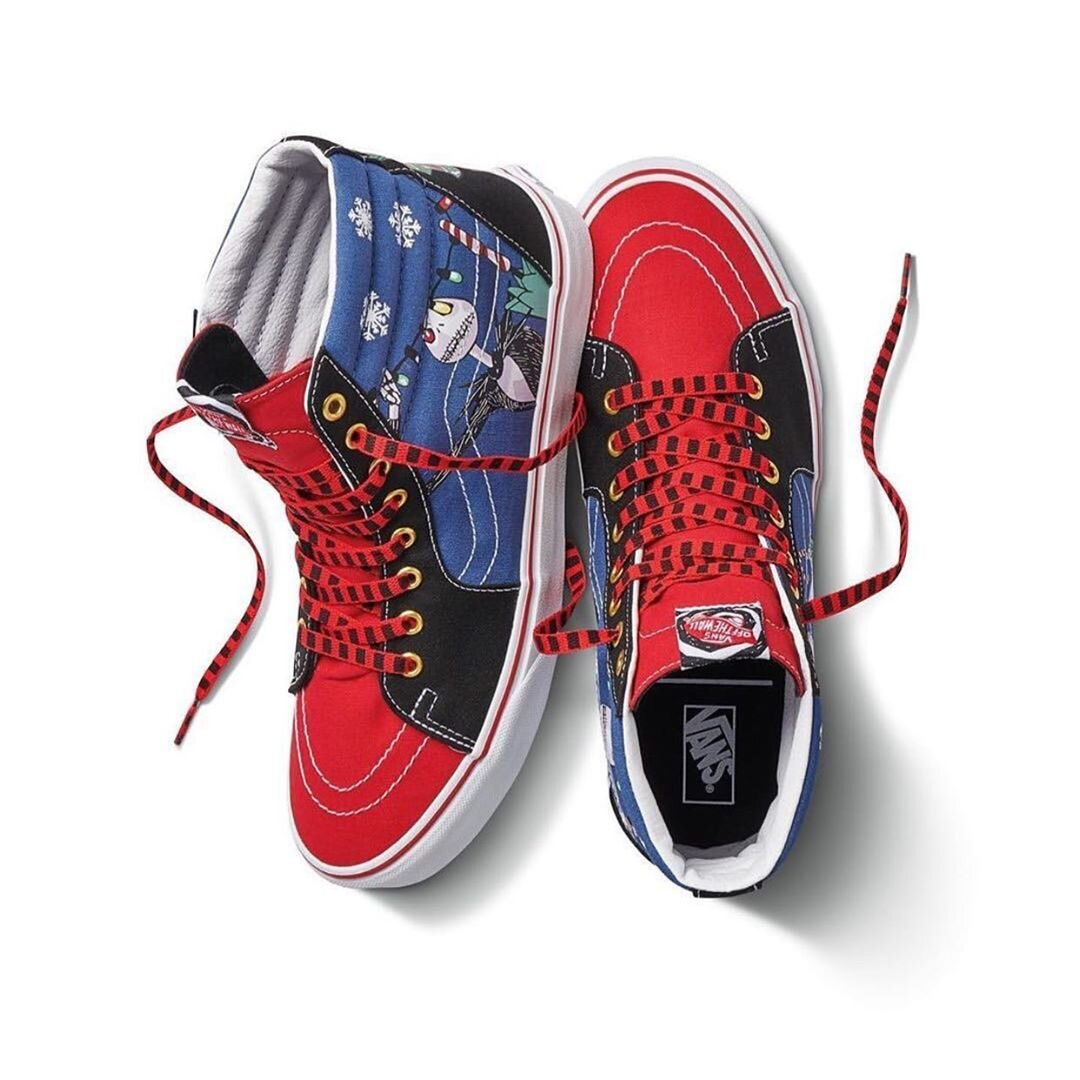 """Now Available: Vans SK8-Hi """"Nightmare Before Christmas"""""""