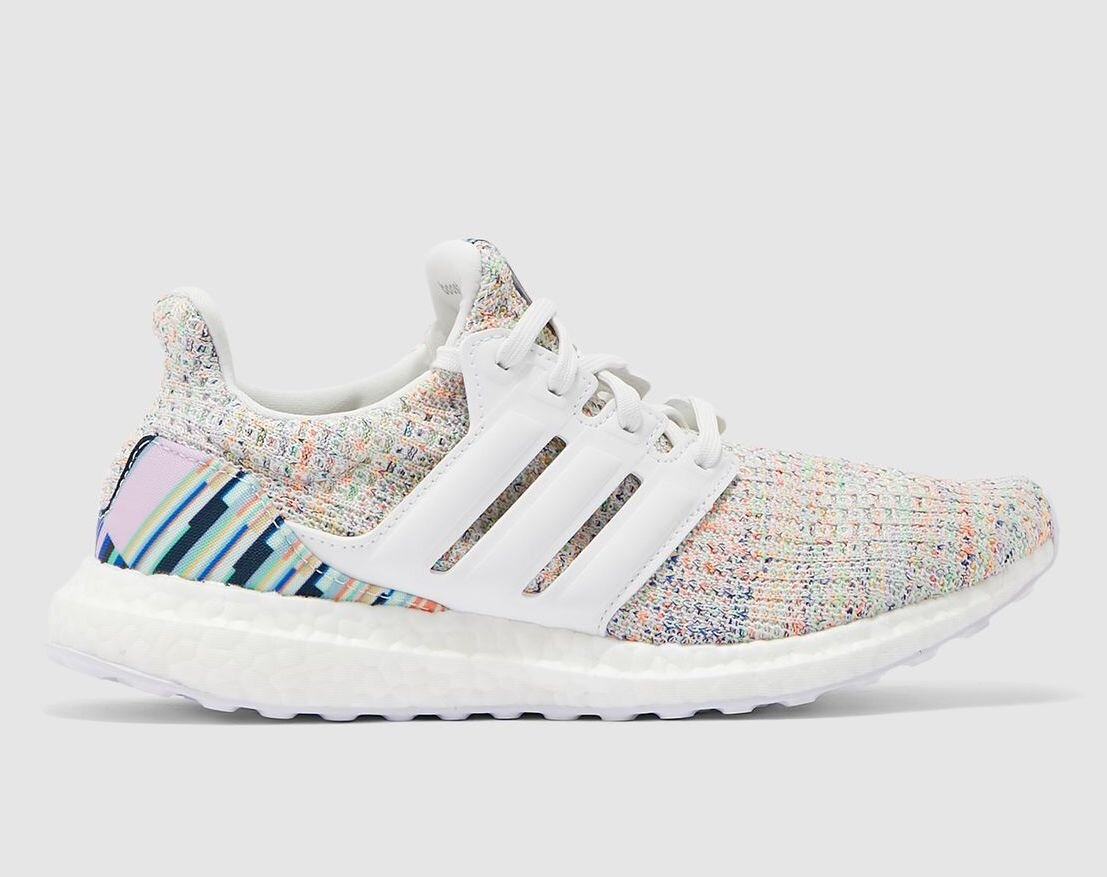 """Women's adidas UltraBoost 4.0 """"Multicolor"""": Sale Price: $90 (Retail $180)  – FREE SHIPPING – use code:  – ULTRA50 –  at checkout"""