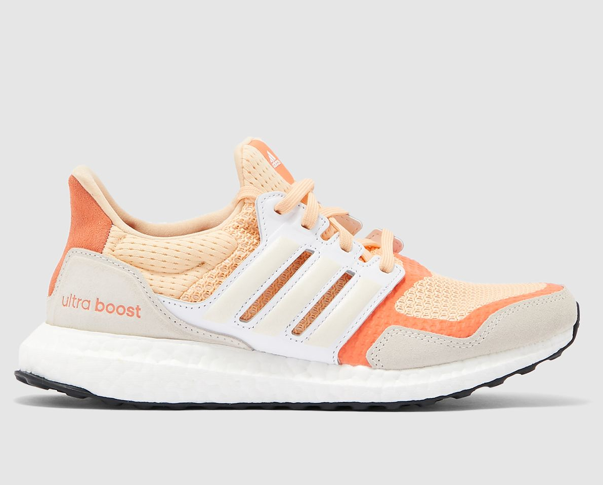 "Women's adidas UltraBOOST S&L ""Orange Glow"": Sale Price: $67.50 (Retail $180)  – FREE SHIPPING  – use code:  – CYBER25 –  at checkout"