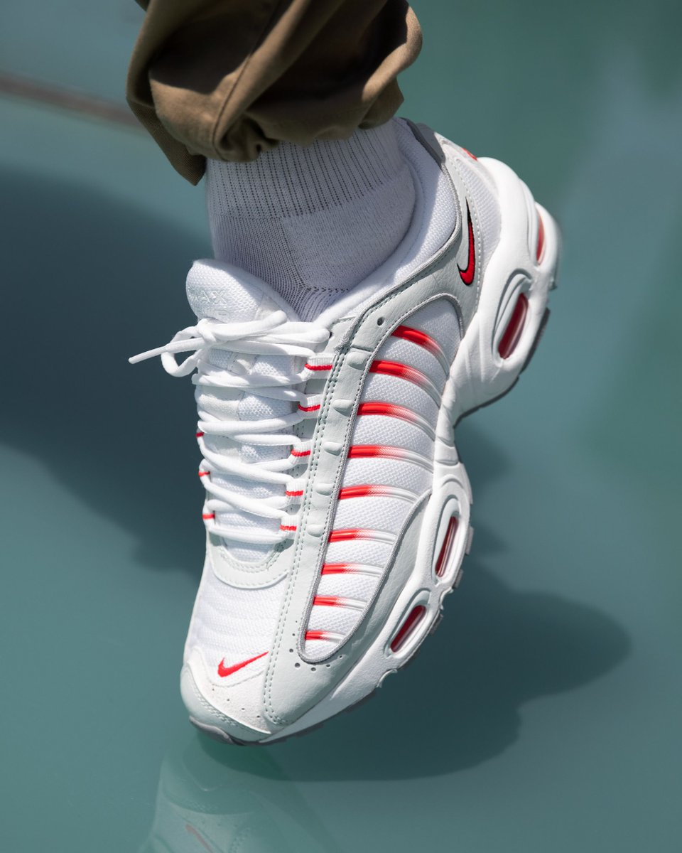 """Nike Air Max Tailwind IV """"Ghost Red"""": Sale Price: $78.97 (Retail $160)  – FREE SHIPPING"""
