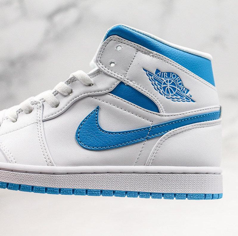 Now Available Women S Air Jordan 1 Mid Unc Sneaker Shouts