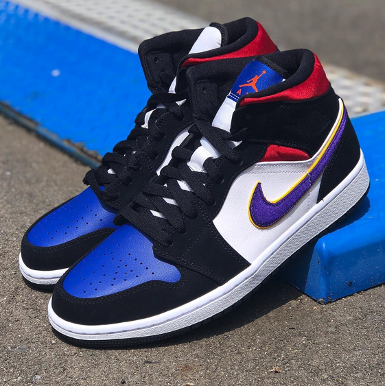 """Air Jordan 1 Mid SE """"Rivals"""" : Sale Price; $90 (Retail $120)  – FREE SHIPPING – use code:  – WIN25 –  at checkout"""
