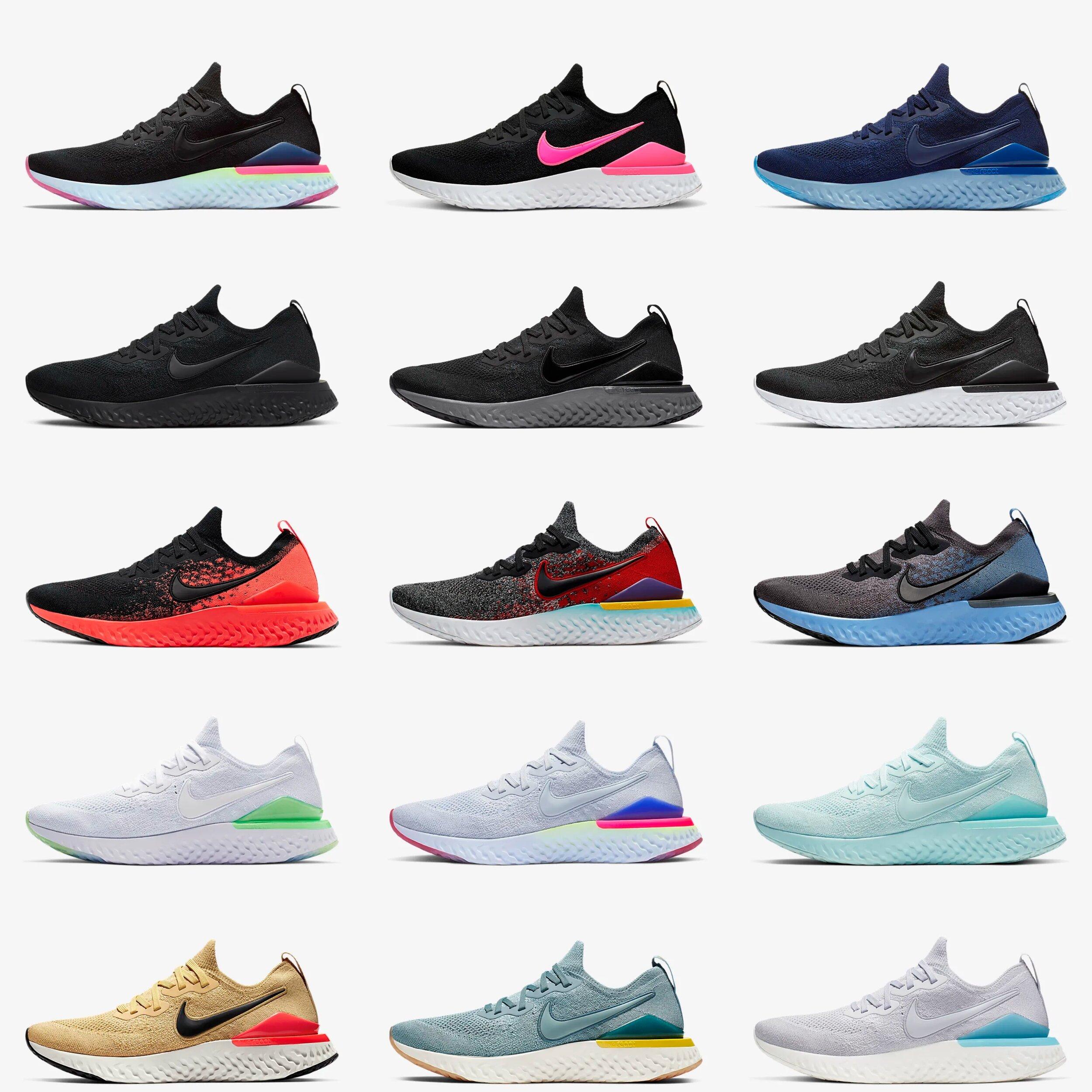 Nike Epic React Flyknit 2 Colorways