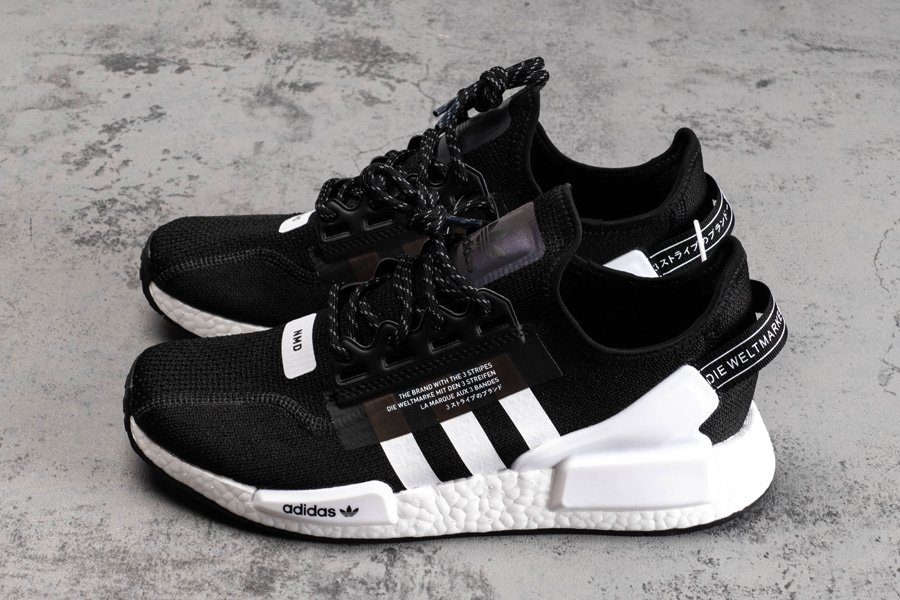 On Sale Adidas Nmd R1 V2 Black White Sneaker Shouts