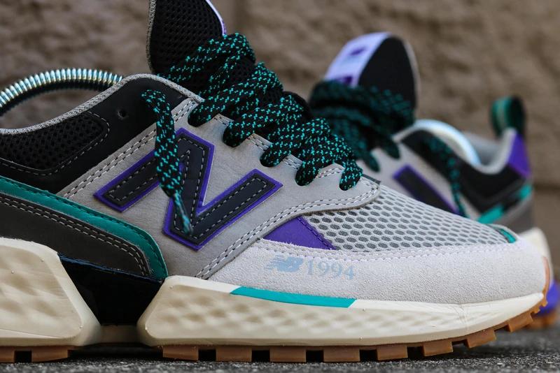 new balance 574 purple