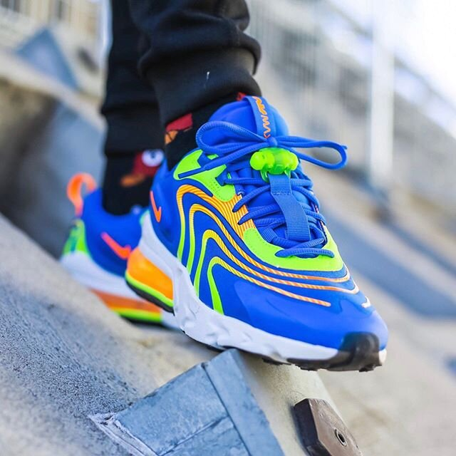 On Sale Nike Air Max 270 React Eng Blue Volt Sneaker Shouts