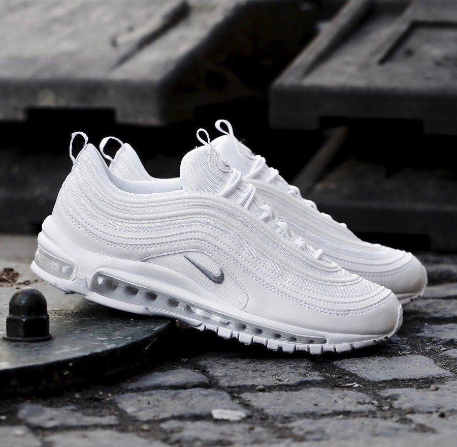 On Sale Nike Air Max 97 Triple White Sneaker Shouts