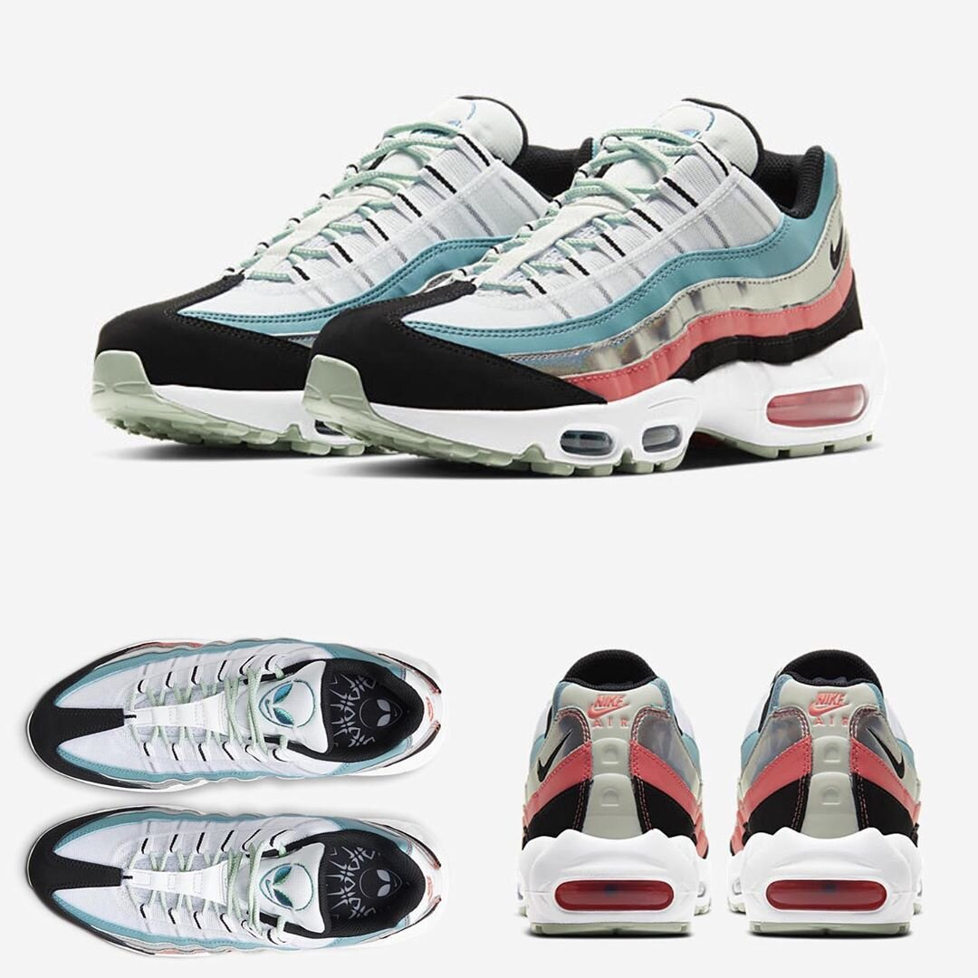 "Nike Air Max 95 ""Alien"" : Sale Price: $95.99 (Retail $180)  – FREE SHIPPING  – use code:  – 20EARLY –  at checkout"