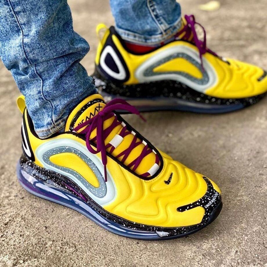 On Sale Undercover X Nike Air Max 720 Bright Citron Sneaker