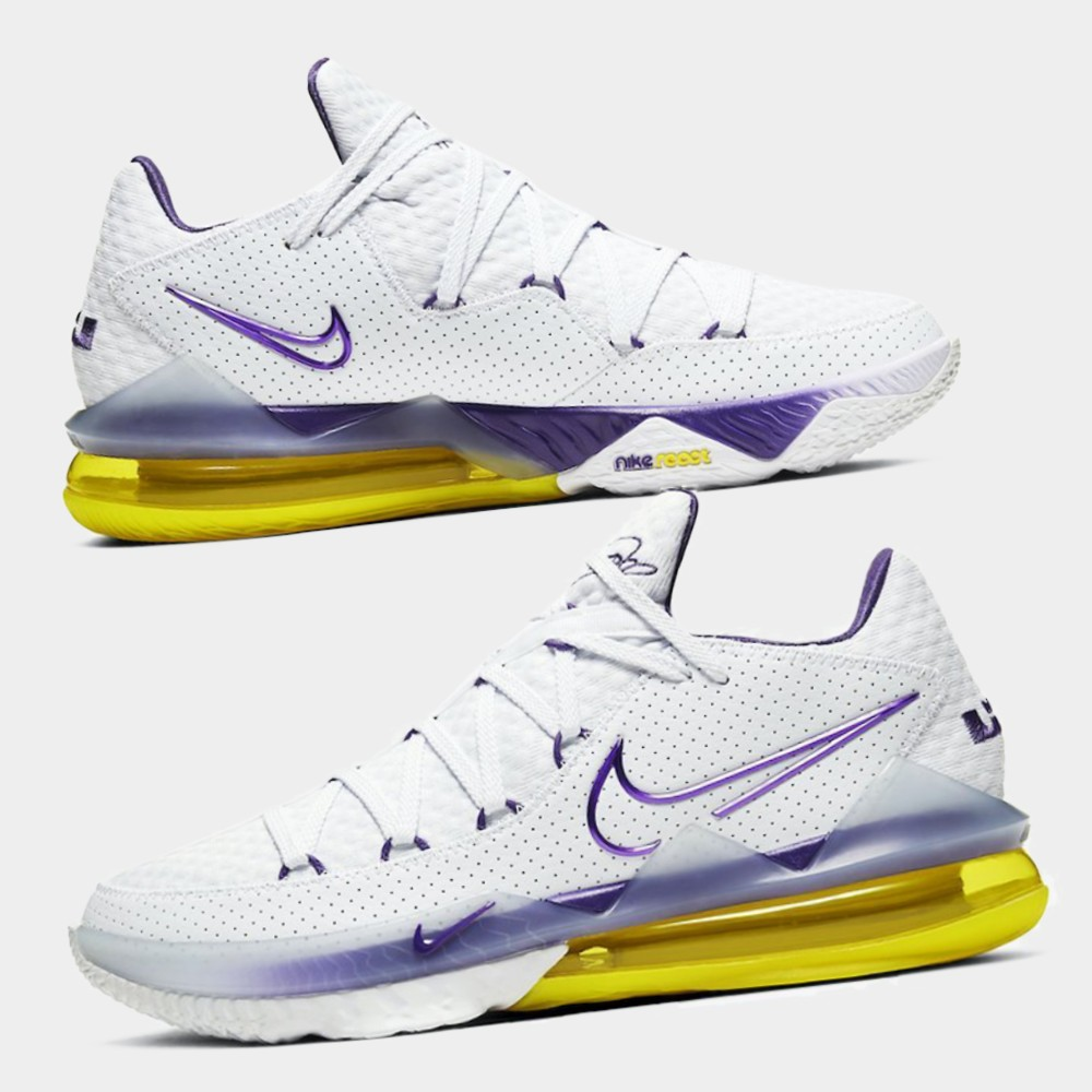 "Nike LeBron 17 Low ""Lakers"" : Sale Price: $79.99 (Retail $160)  – FREE SHIPPING"