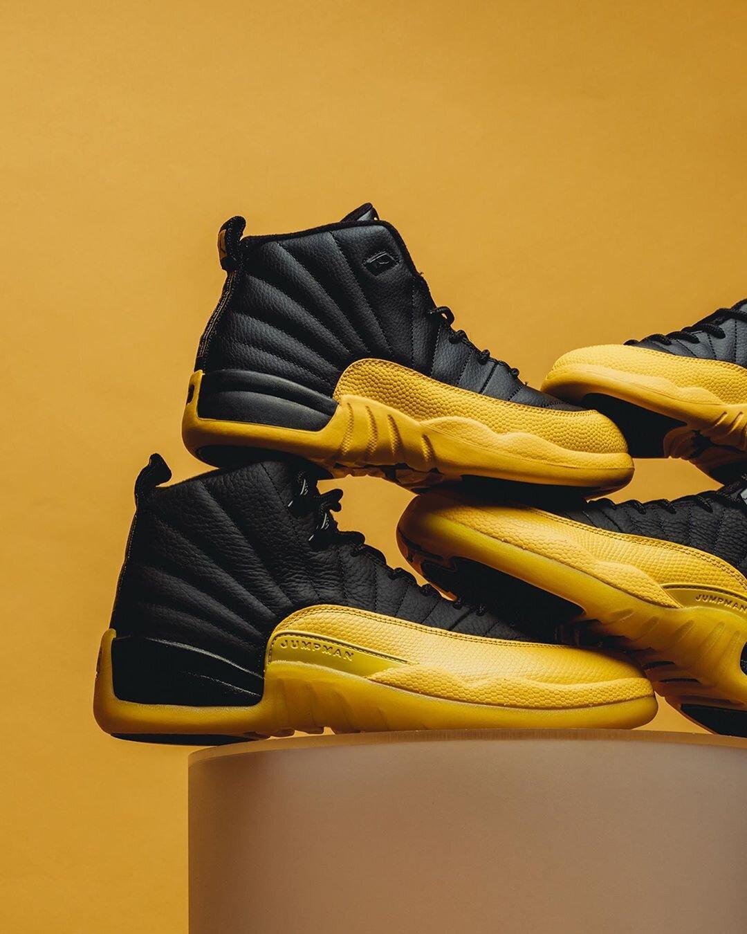 Restock Air Jordan 12 Retro University Gold Sneaker Shouts