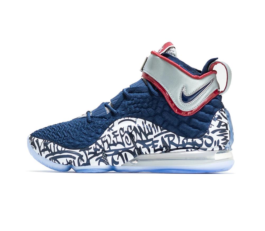 Now Available: Nike LeBron 17 Graffiti