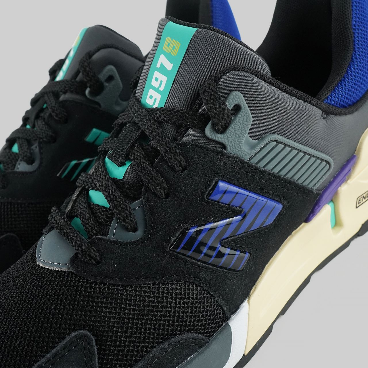 "New Balance 997 Sport ""Black Blue""  : Sale Price: $59.99 (Retail $110)  – FREE SHIPPING"