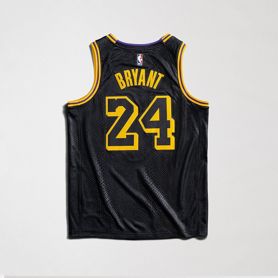 Now Available: Nike NBA Lakers City Edition Jersey
