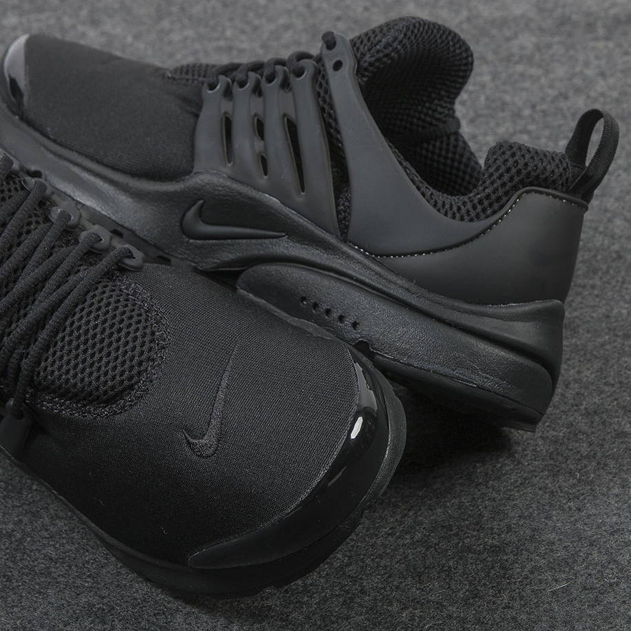 """Nike Air Presto """"Triple Black"""" : Sale Price: $104 (Retail $130)  – FREE SHIPPING – use code:  – PSEY920 –  at checkout"""