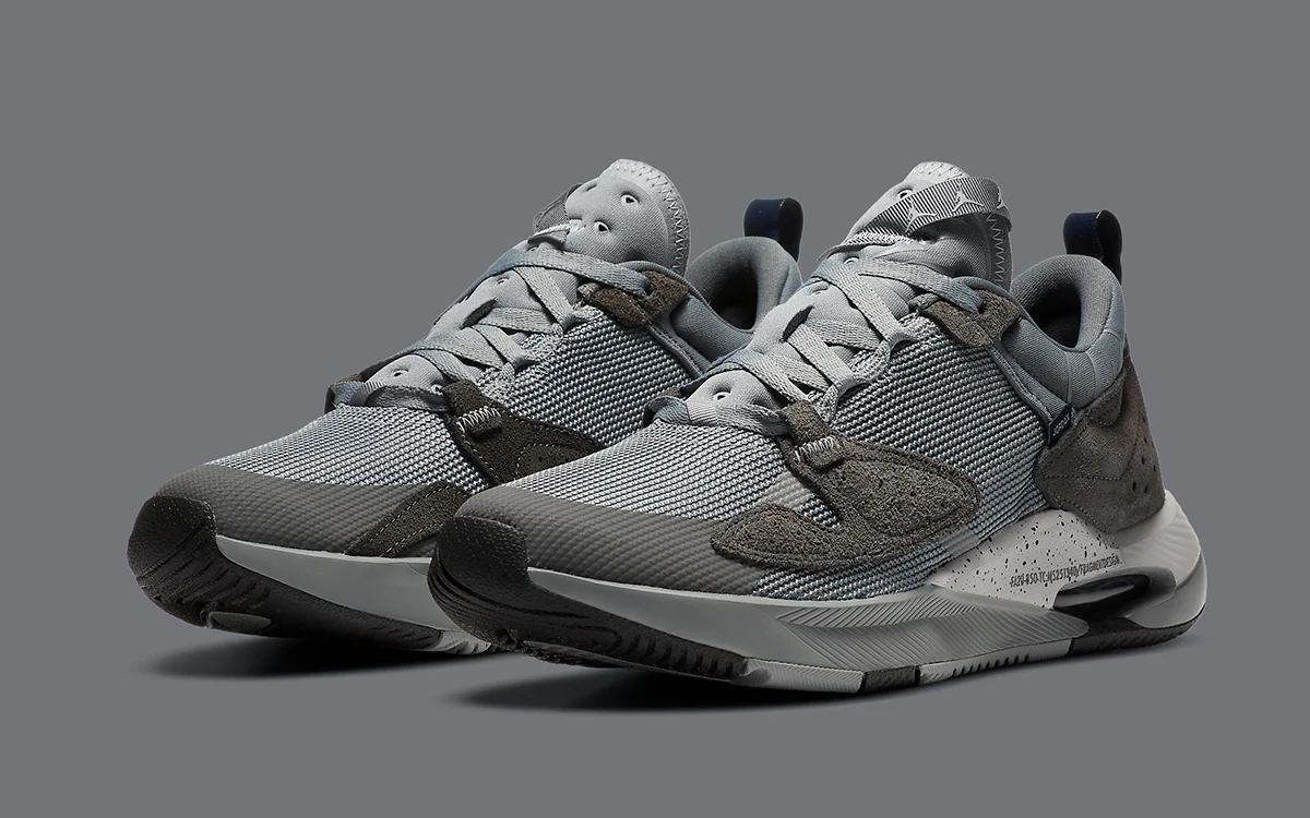 "Now Available: Fragment x Air Jordan Cadence ""Grey"""
