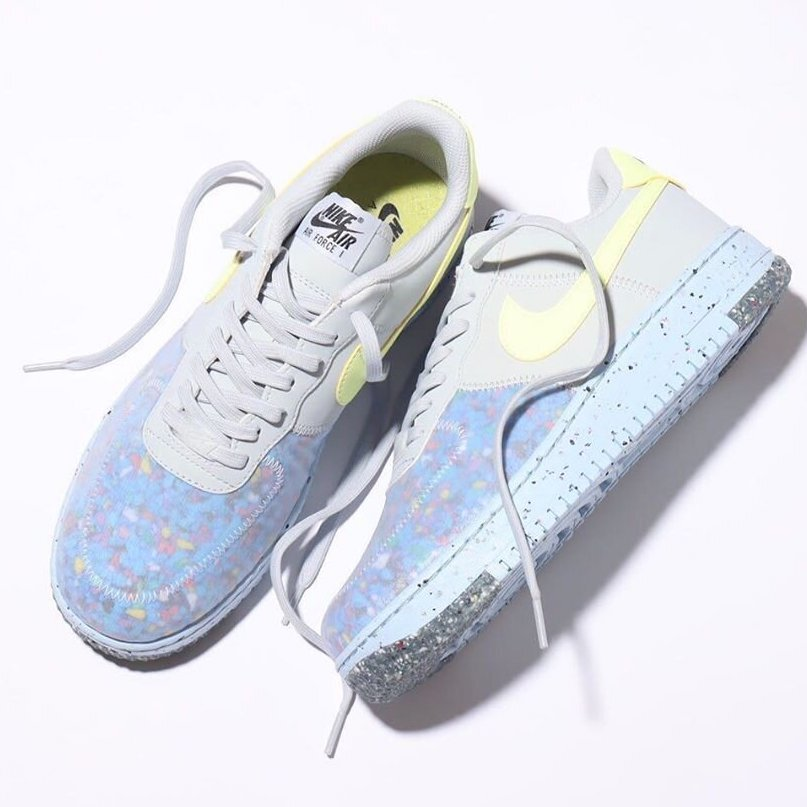 """Nike Air Force 1 Crater (W) """"Barely Volt"""" : Sale Price: $66.37 (Retail $110)  – FREE SHIPPING – use code;  – BEST20 –  at checkout"""