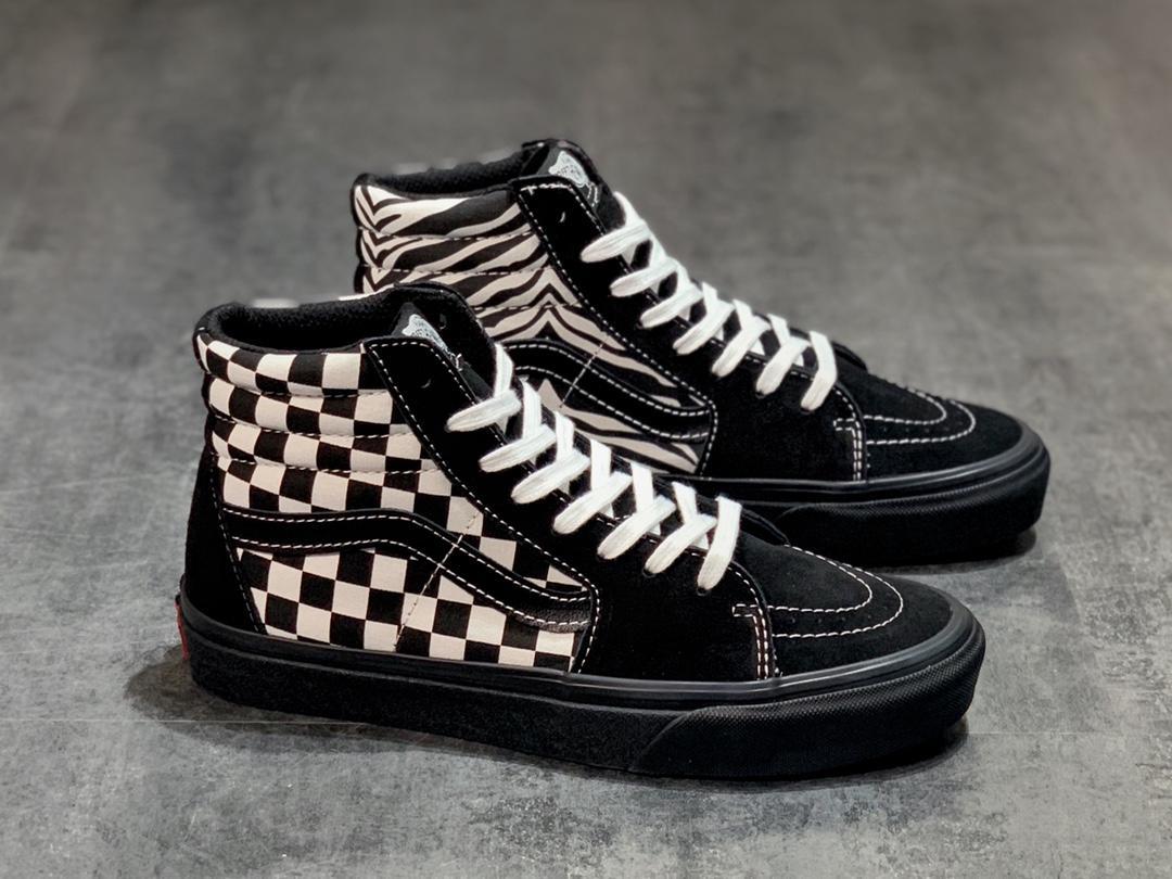 "Vans SK8-Hi Checkerboard ""Black"": Sale Price: $39.97 (Retail $80)"
