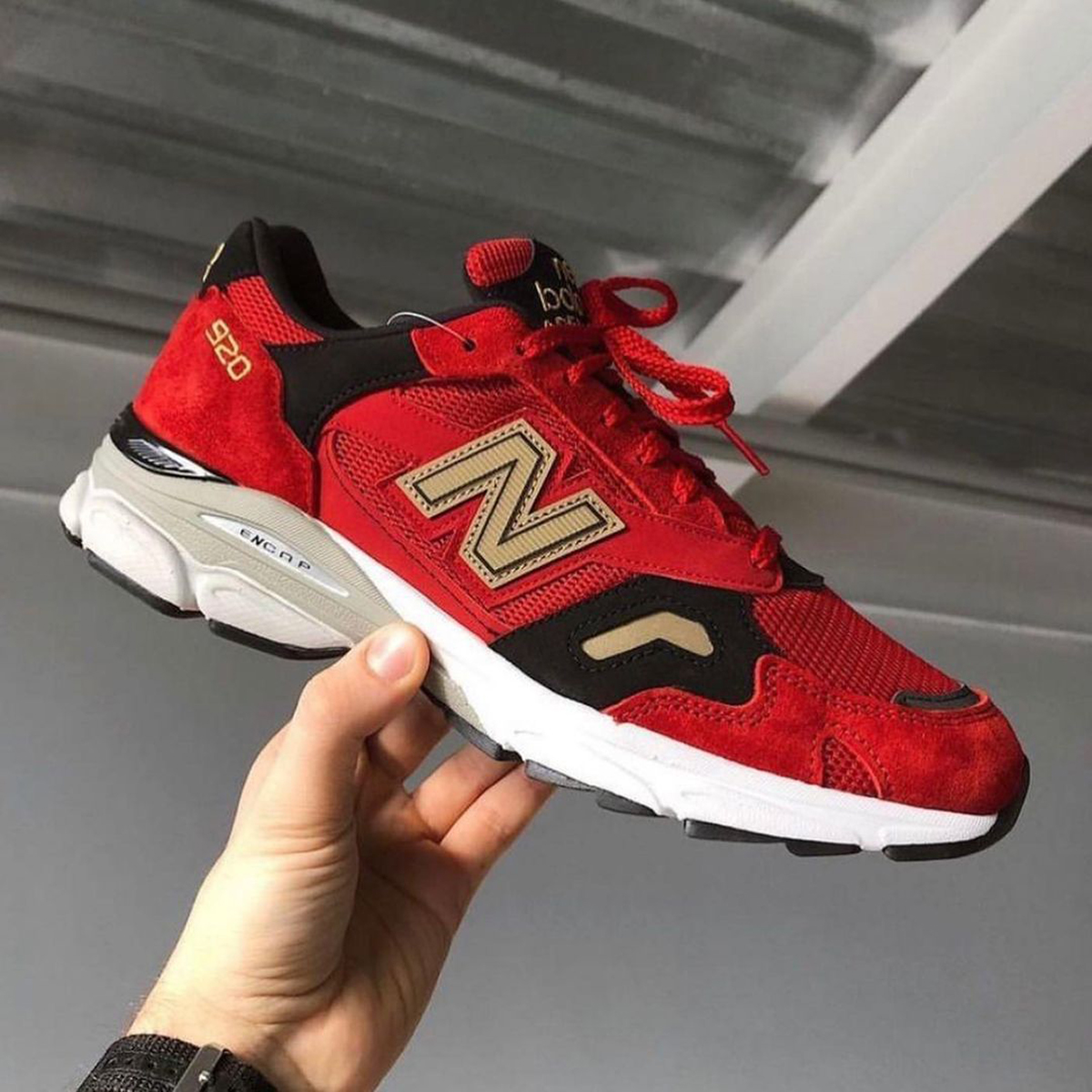 """New Balance 920 UK """"Year of the Ox"""": Sale Price: $213 (Retail $260)  – FREE SHIPPING"""