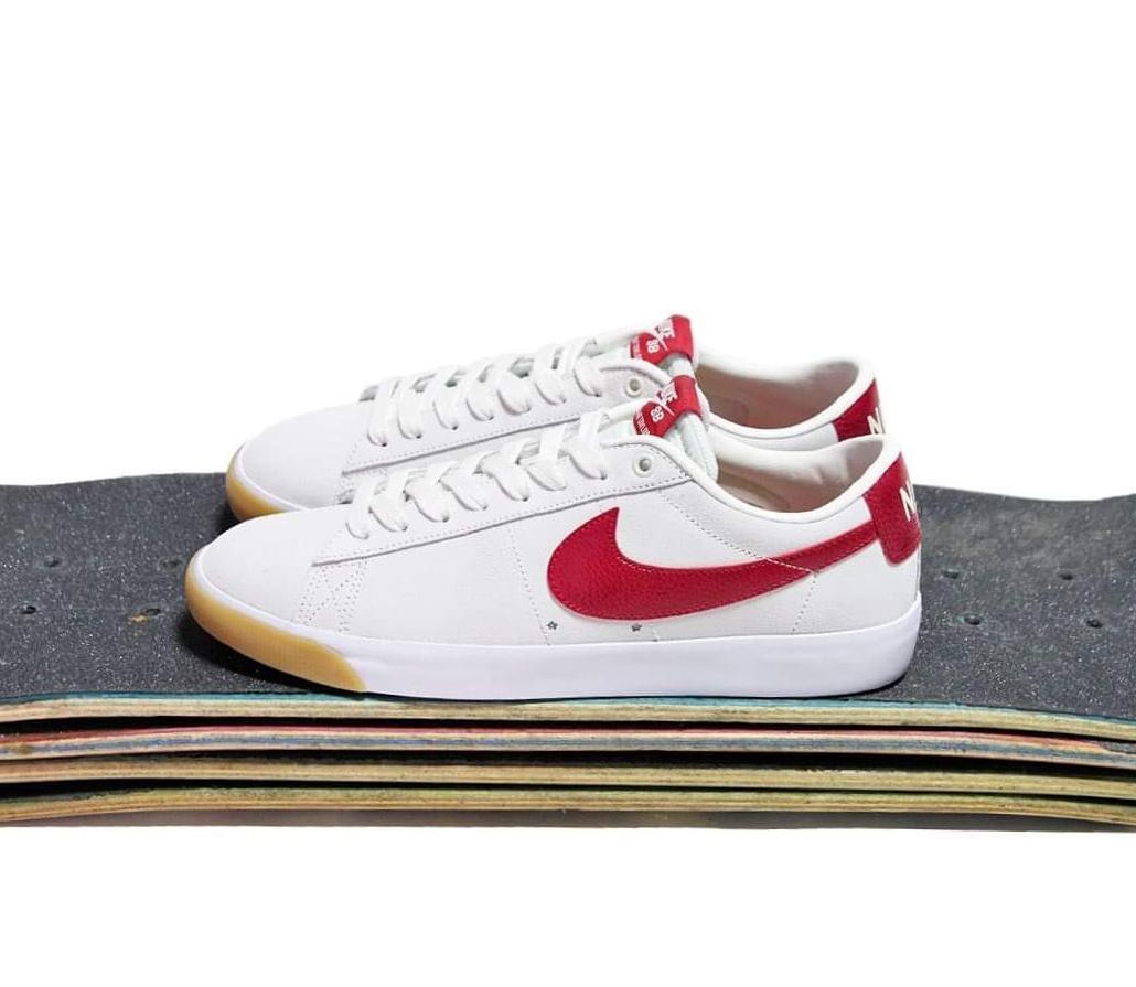 "Nike SB Blazer Low GT ""Cardinal Red"": Sale Price: $56.97 (Retail $75)  – FREE SHIPPING"