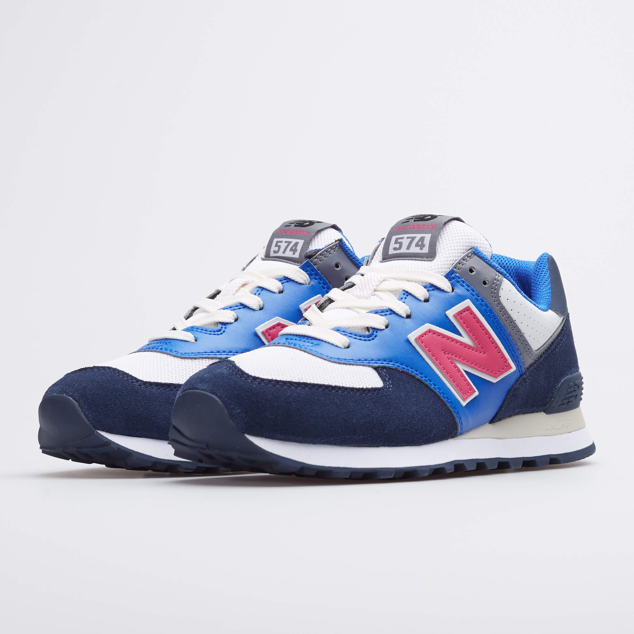 "New Balance 574 ""Navy Blue"": Sale Price: $44.99 (Retail $75)  – free shipping on orders $50+"