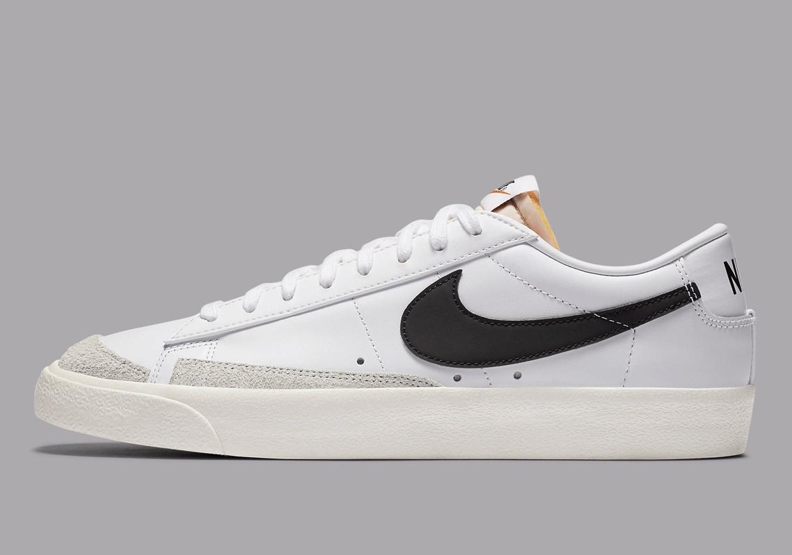 "Now Available: Nike Blazer Low '77 Vintage ""White Black"""