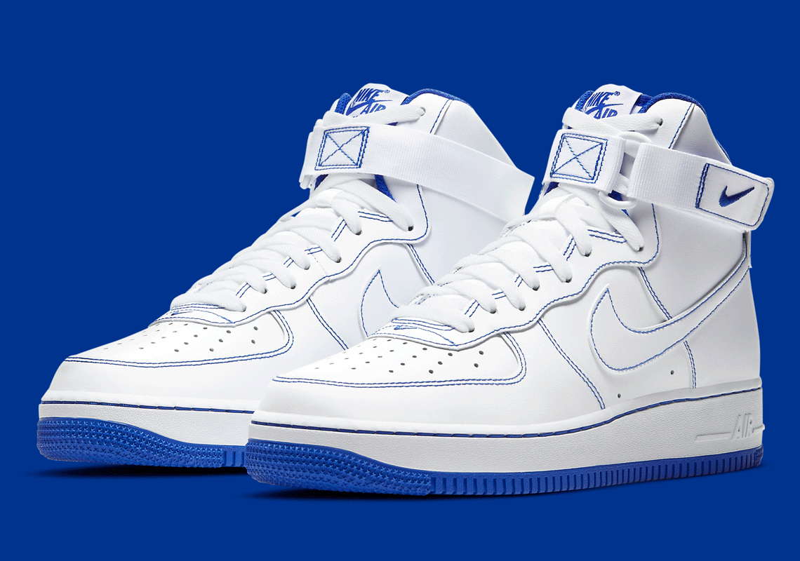 """Now Available: Nike Air Force 1 High """"Royal Blue"""""""