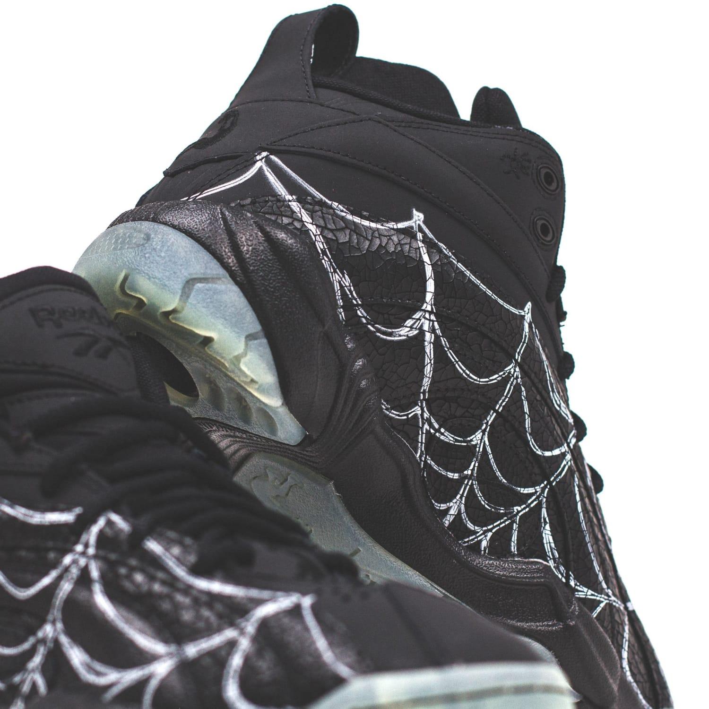 "Reebok Shaqnosis Boktober ""Spider Web"": Sale Price: $80 (Retail $140)  – use code:  – SHOUTS2021 –  at checkout"