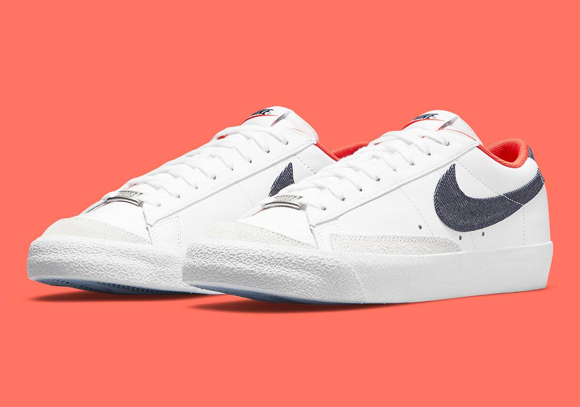 "Now Available: Nike Blazer Low '77 Vintage ""Denim"""