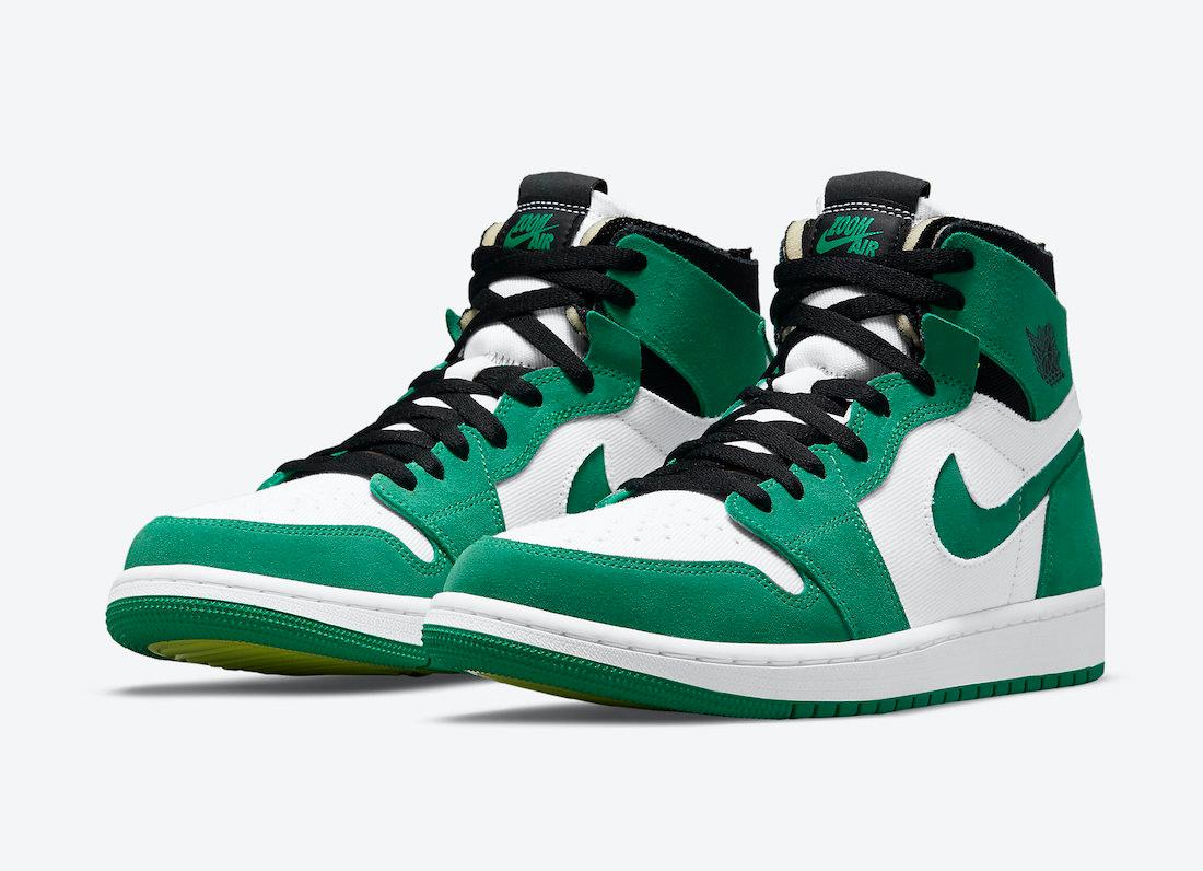 "Restock: Air Jordan 1 High Zoom CMFT ""Stadium Green"""