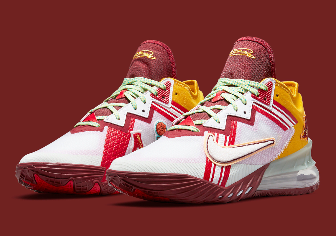 """Now Available: Mimi Plange x Nike LeBron 18 Low """"Higher Learning"""""""