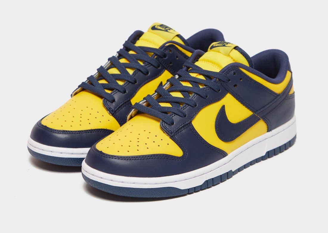 """Now Available: Nike Dunk Low """"Varsity Maize"""""""