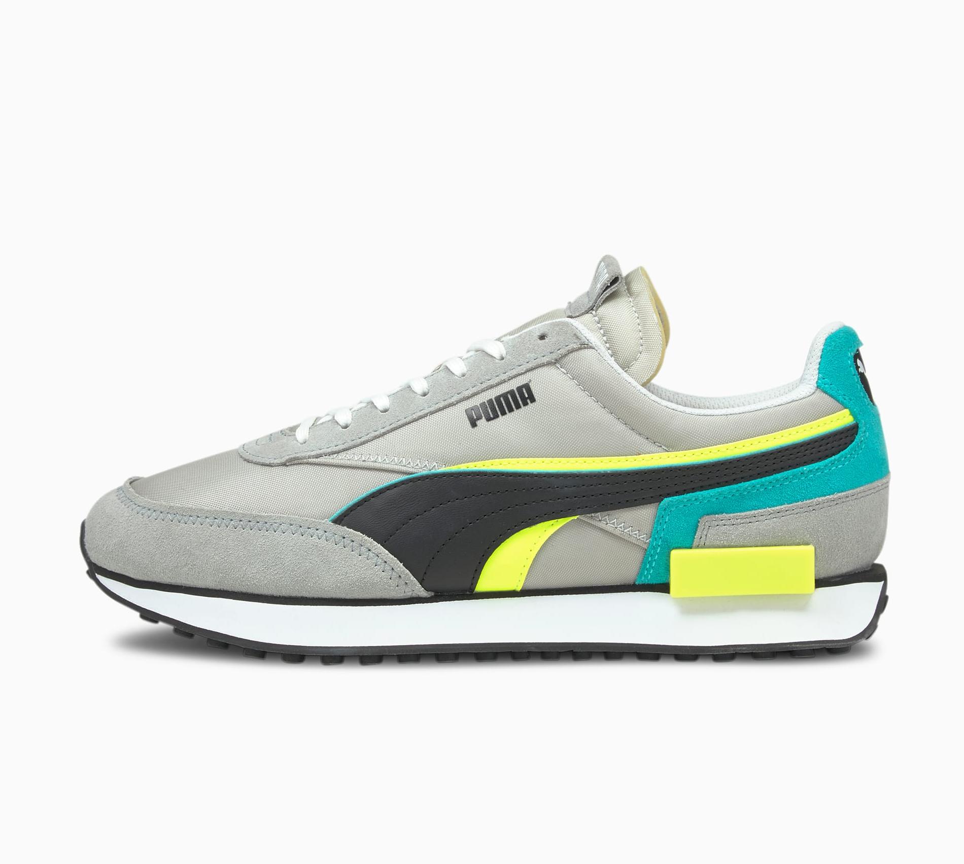 "Puma Future Rider ""Grey Teal"": Sale Price: $34.99 (Retail $80)  – use code:  – FFPUMA21 –  at checkout"