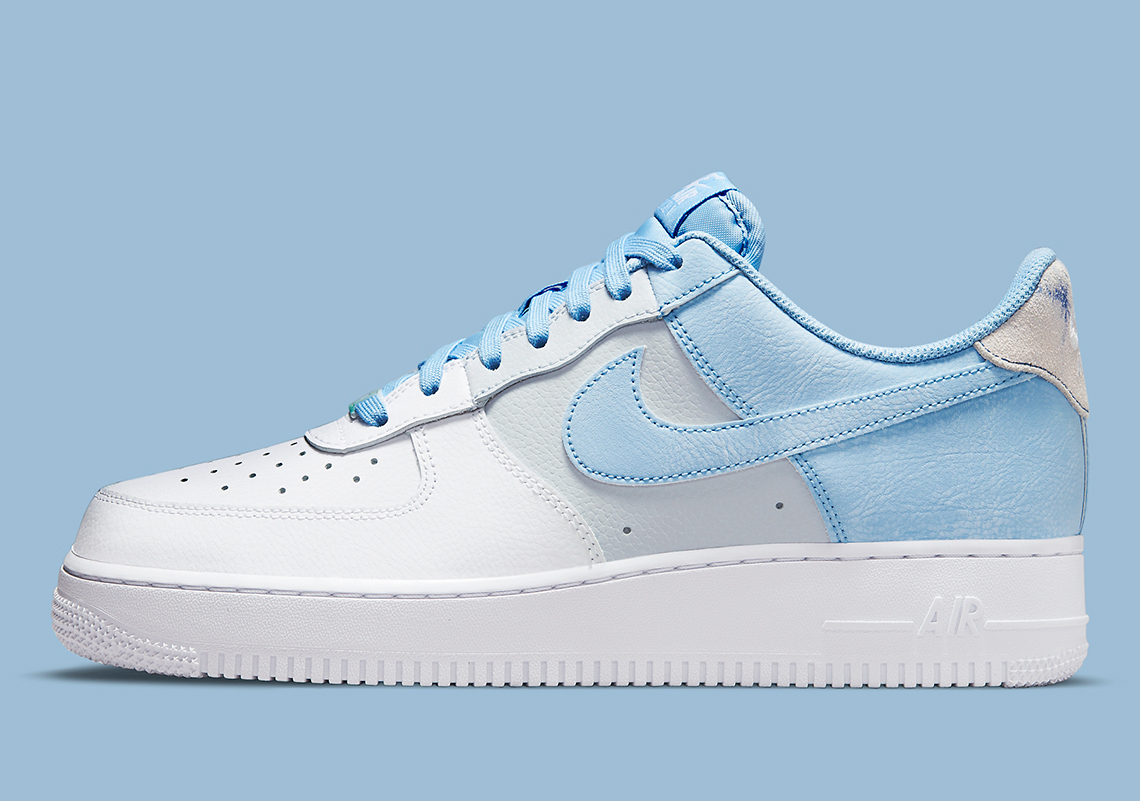 """Now Available: Nike Air Force 1 Low """"Psychic Blue"""""""