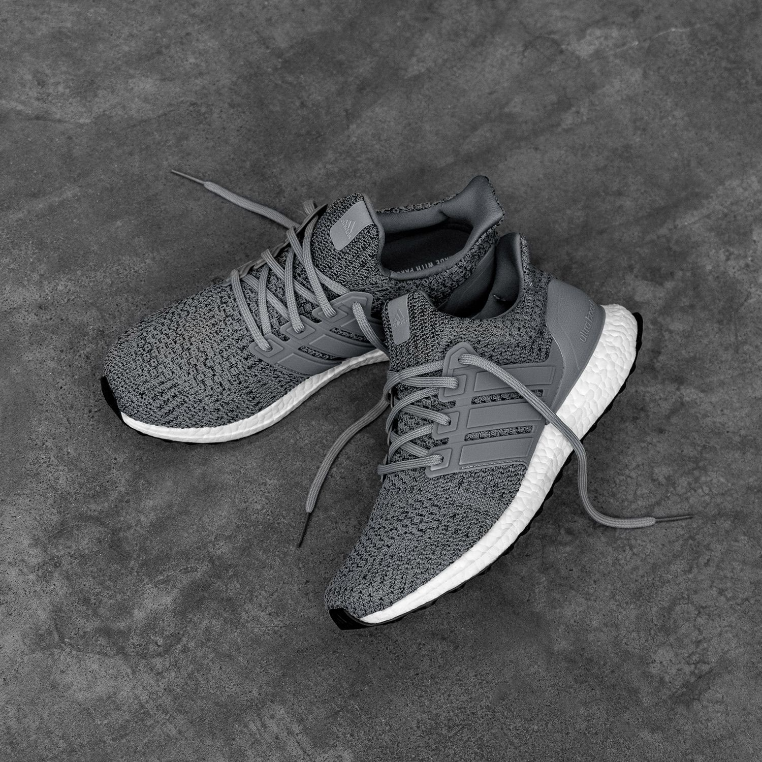 """adidas UltraBOOST 4.0 DNA """"Wool Grey"""": Sale Price: $135 (Retail $180)  – FREE SHIPPING – use code:  – GRAD25 –  at checkout"""
