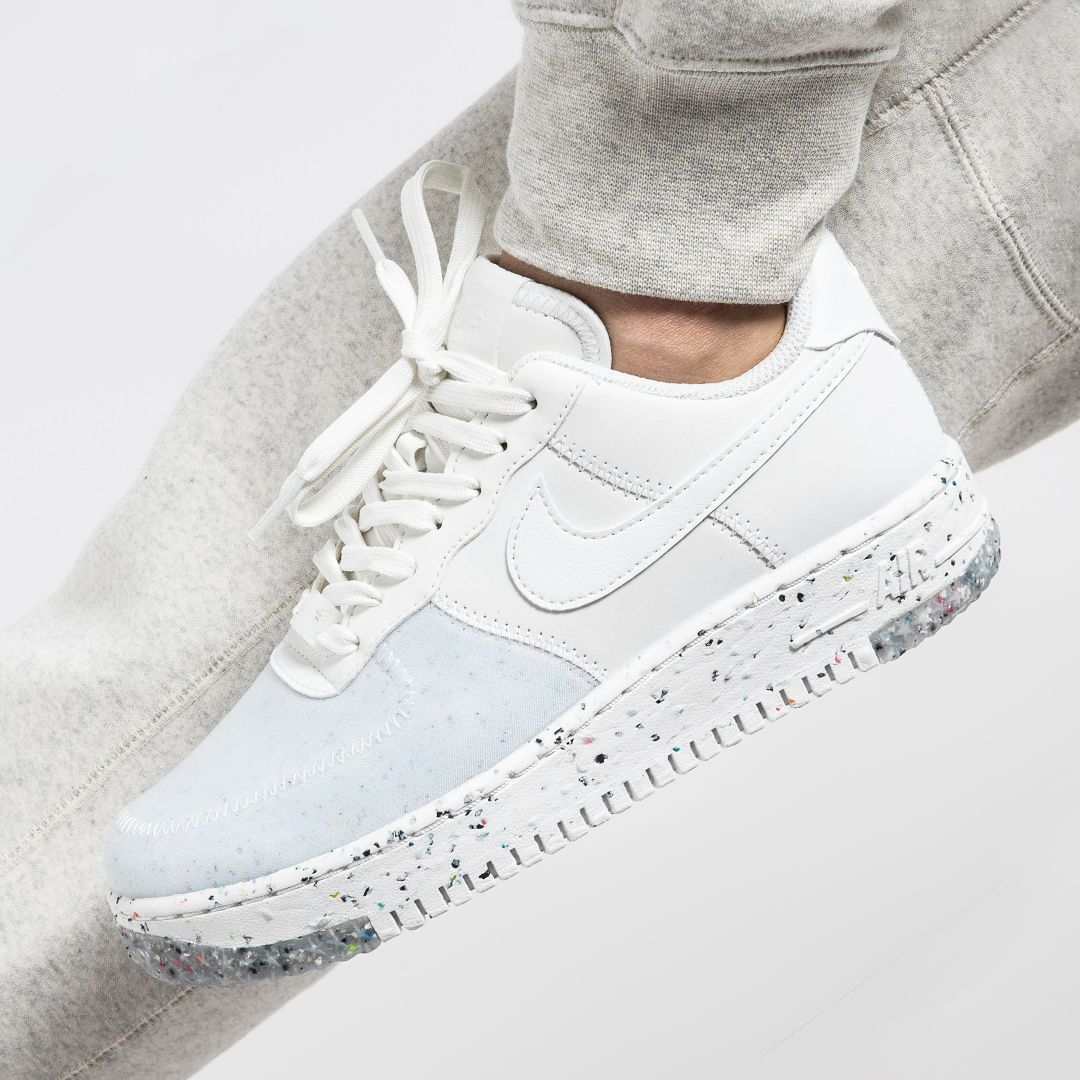 """Nike Air Force 1 Crater (W) """"Summit White"""": Sale Price: $55.19 (Retail $110)  – FREE SHIPPING – use code:  – BEST20 –  at checkout"""