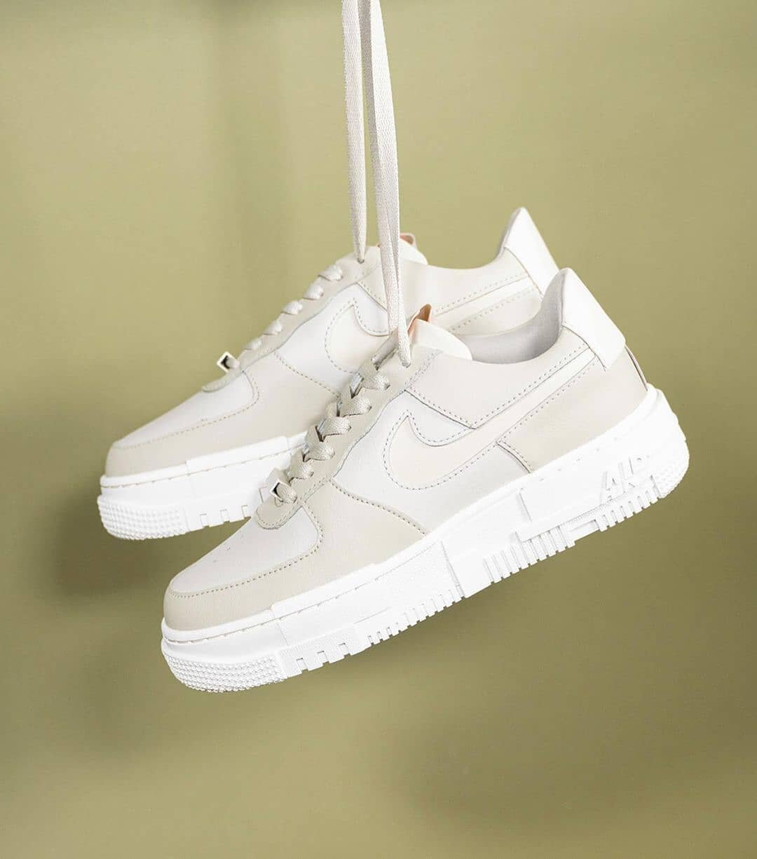 """Now Available: Nike Air Force 1 Pixel (W) """"Particle Beige"""""""