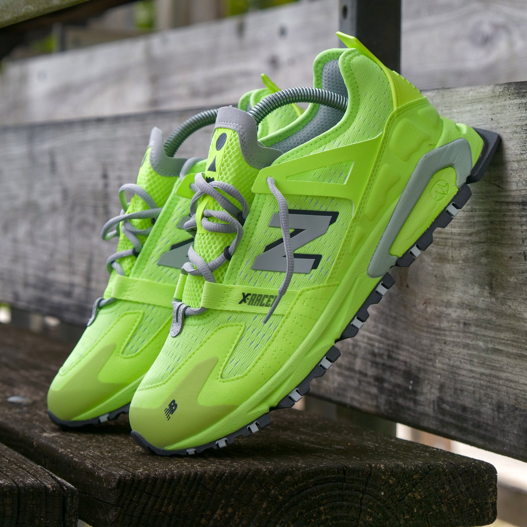 """New Balance X-Racer """"Bleached Lime"""": Sale Price: $75 (Retail $100)  – FREE SHIPPING – use code: SHOUTS25 at checkout"""