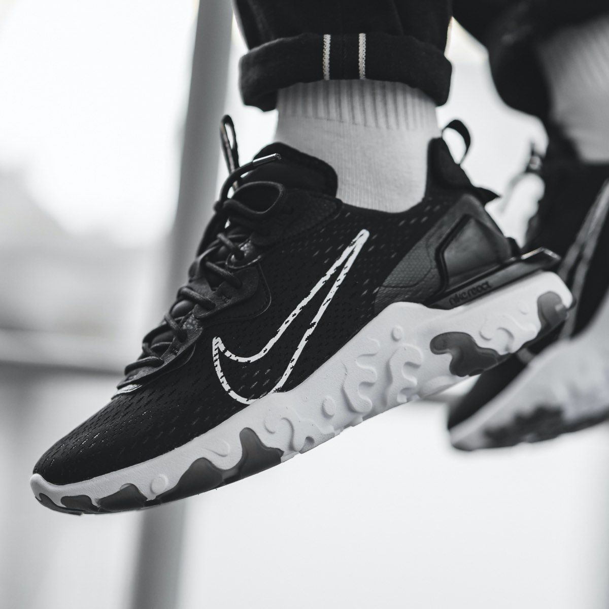 """Nike React Vision """"Black White"""": Sale Price: $71.99 (Retail $140)  – use code:  – LCS40 –  at checkout"""