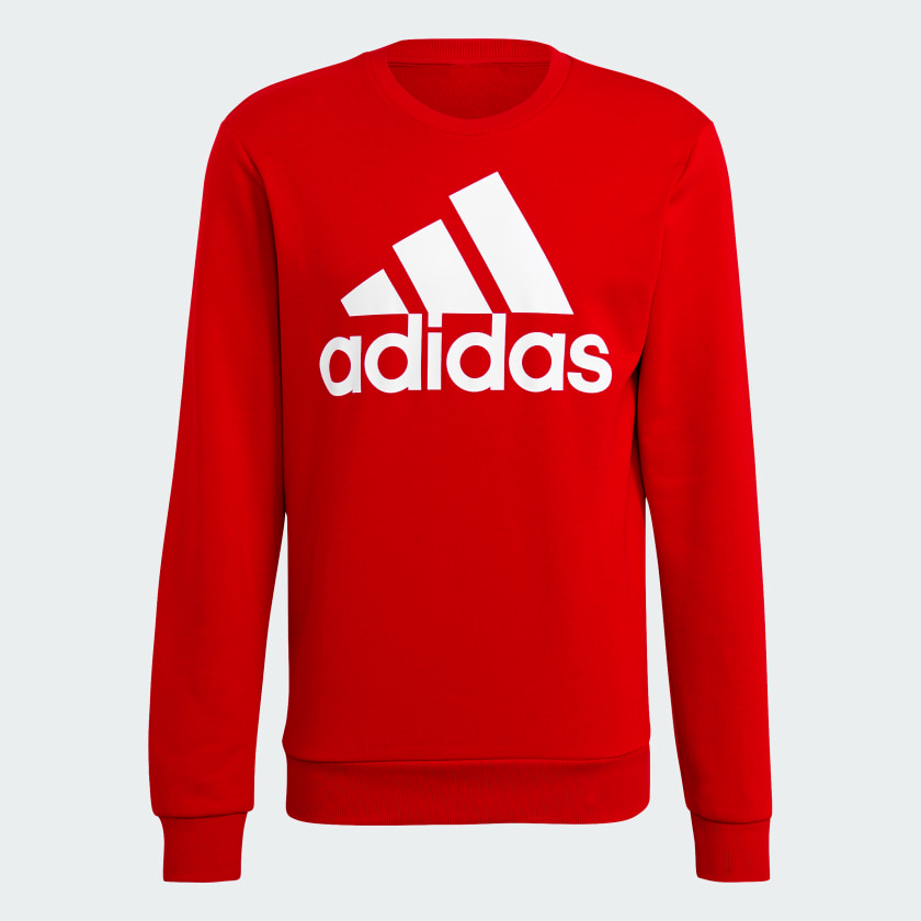 Essentials_Big_Logo_Sweatshirt_Red_GM6963_01_laydown.png