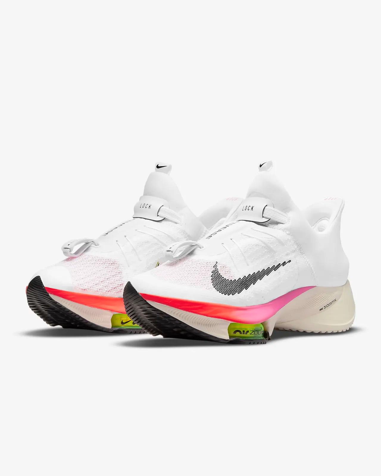 """Nike Tempo Next% Flyease """"White Coral"""": Sale Price: $99.99 (Retail $200)  – FREE SHIPPING"""