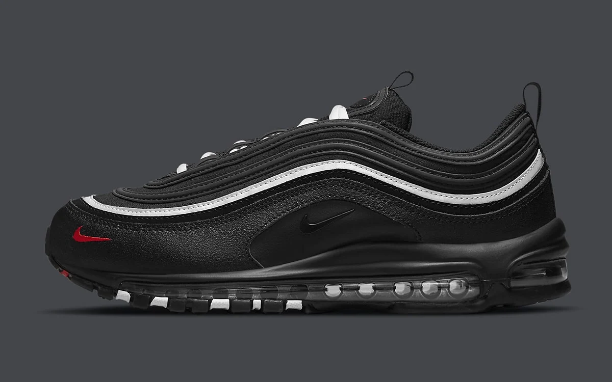"""Now Available: Nike Air Max 97 """"Black Sport Red"""""""