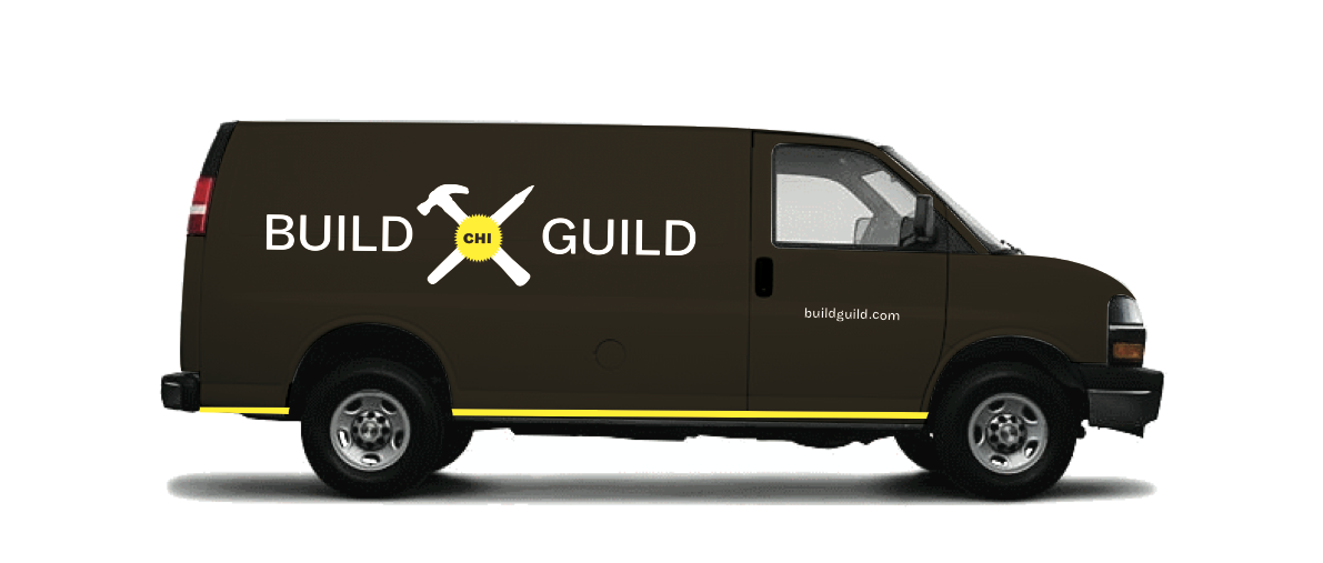 Members can have tools delivered to their homes via the Build Guild tool truck.