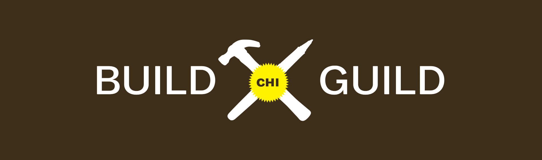 "The logo consists of a hammer, pencil, and saw blade. The elements come together in an ""x"" form indicating solidarity."