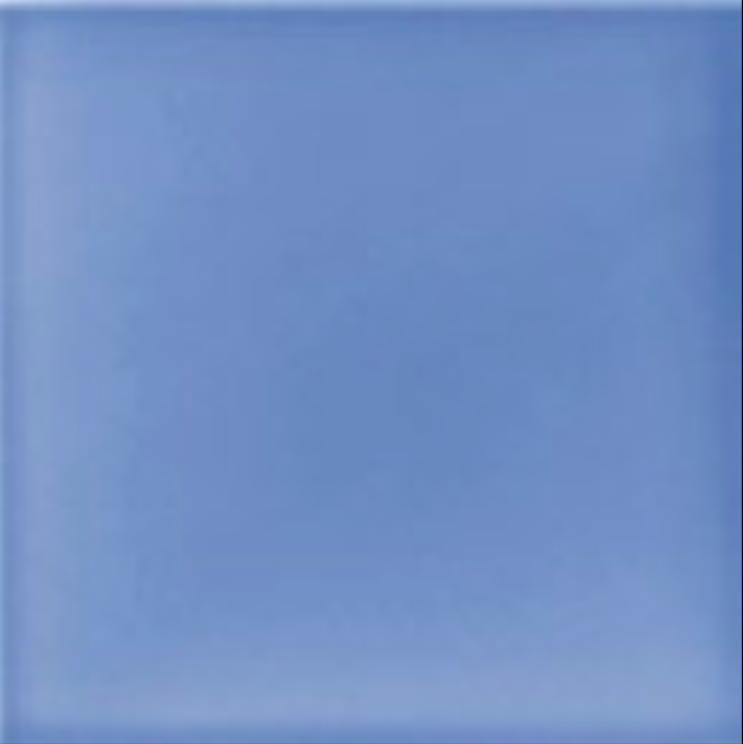 Art Deco Plain field tile 152x152mm Deco Blue