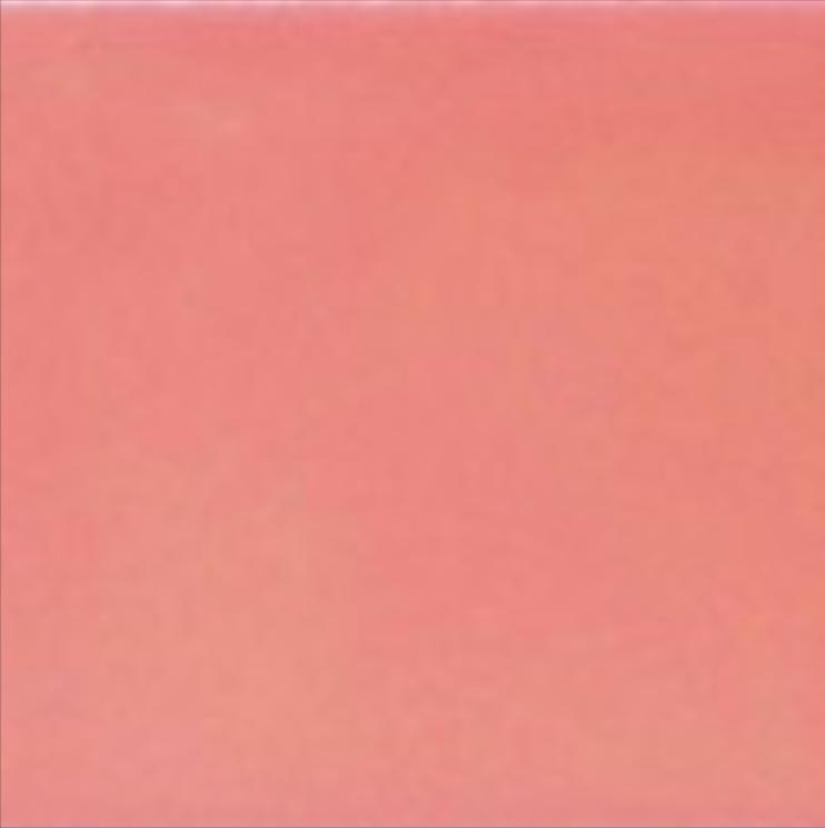 Art Deco Plain field tile 152x152mm Dog Rose