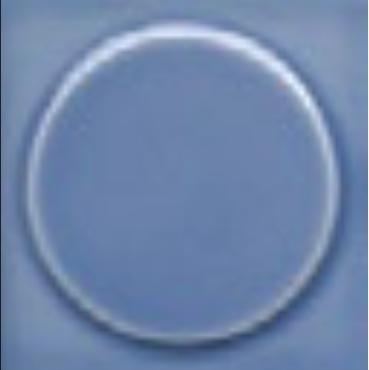 Art Deco tile Quatt 75x75mm Deco Blue