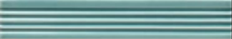 Art Deco tile Reeded Slip 25x152mm Aqua