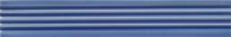 Art Deco tile Reeded Slip 25x152mm Deco Blue