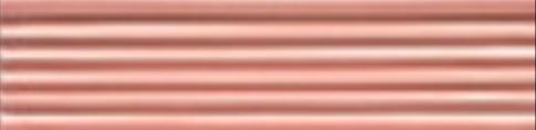 Art Deco tile Reeded Slip 38x152mm Dog Rose